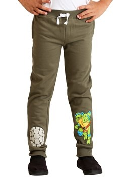 Boys TMNT 2-Pack Turtle Power Fleece Pants2