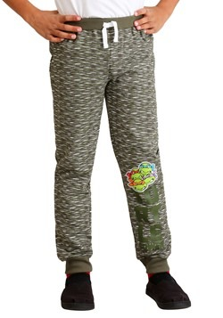 Boys TMNT 2-Pack Turtle Power Fleece Pants