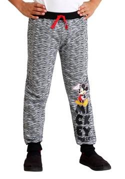 Mickey Mouse Boy's Fleece Pants 2-Pack Alt