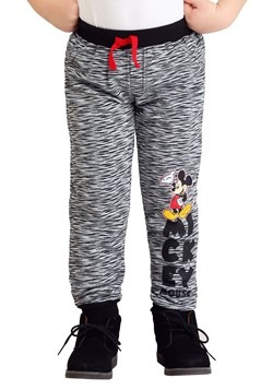 Toddler Boys Mickey Mouse Fleece 2-Pack Pants Alt1