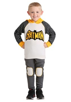 Toddler 2PC Batman Hoodie and Pant Set For Boys
