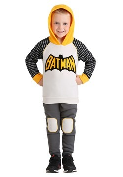 Toddler 2PC Batman Hoodie and Pant Set For Boys Alt2