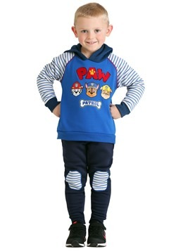 Toddler Boys Paw Patrol Spun Poly Hoodie Pant 2 PC Set