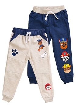 2 Pack of Toddler Boys Paw Patrol Character Fleece Pants