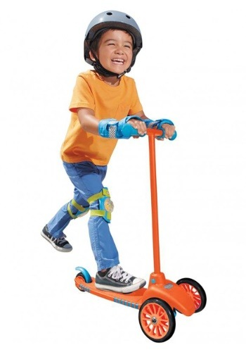 Little Tikes Lean To Turn Scooter- Orange/ Blue