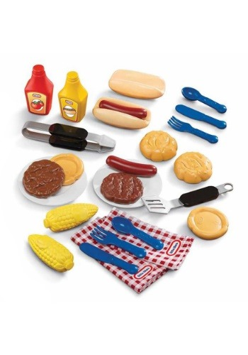 Little Tikes Role Play Backyard Barbecue Grillin' Goodies