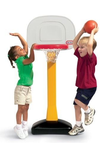 Little Tikes TotSports Basketball Set- Non Adjustable