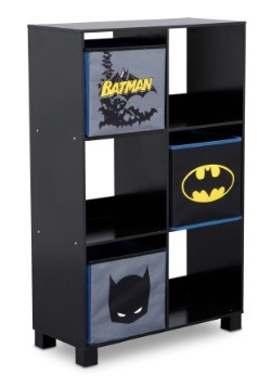 Batman 6 Cubby Storage Unit
