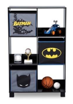 Batman 6 Cubby Storage Unit Alt2