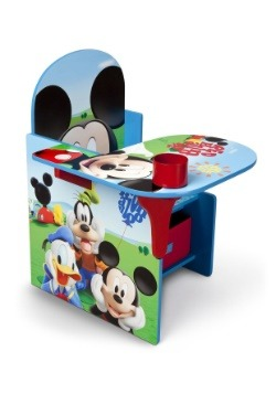 Mickey Mouse Chair Desk with Storage Bin Alt1