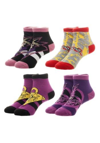 Yu-Gi-Oh! 4 Pair Sock Pack