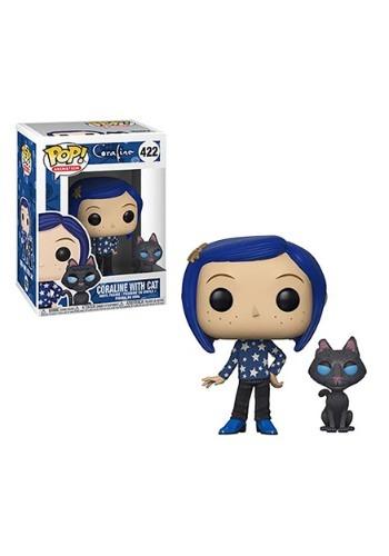 Pop! Movies: Coraline: Coraline w/ Cat Buddy