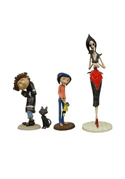 "Coraline 3"" PVC Figure Set"