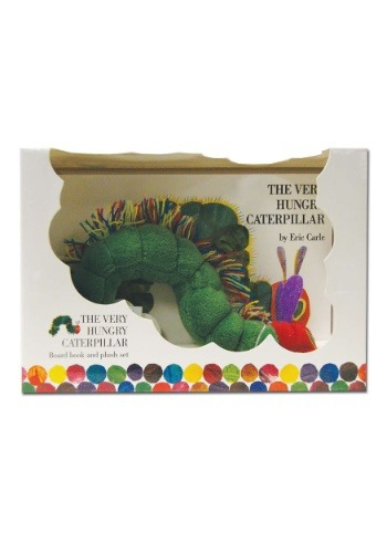 Very Hungry Caterpillar Board Book and Plush