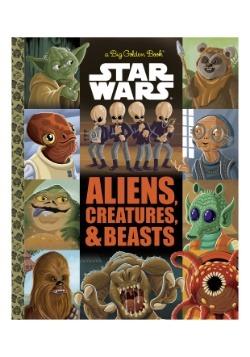 Big Golden Book of Aliens, Creatures and Beasts- Star Wars