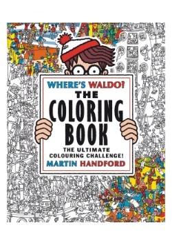 Where's Waldo The Coloring Book