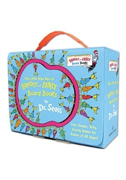 Little Blue Box of Bright and Early Board Books by Dr. Seuss