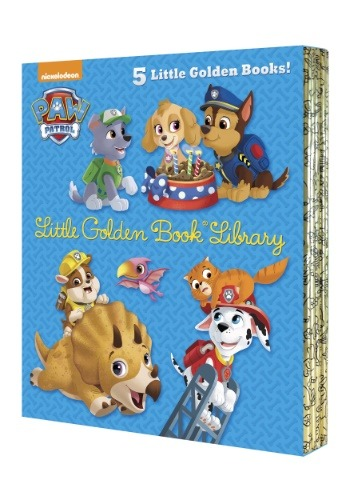 Paw Patrol Little Golden Book Library Board Book Set
