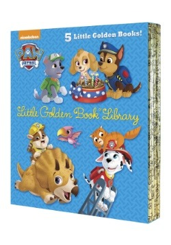Paw Patrol Little Golden Book Library Board Book Set