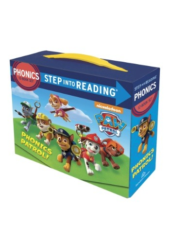 Paw Patrol Phonics Learning Box Set