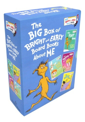 Big Box of Bright and Early Board Books About Me