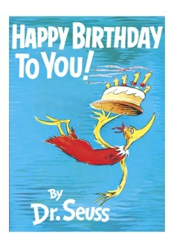 Happy Birthday to You! By Dr. Seuss Hardcover