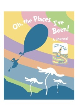 Oh, the Places I've Been! Journal
