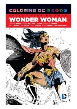 Coloring DC: Wonder Woman Coloring Book