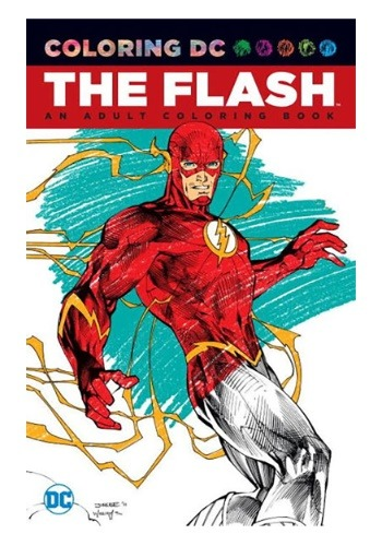 Coloring DC: The Flash: An Adult Coloring Book