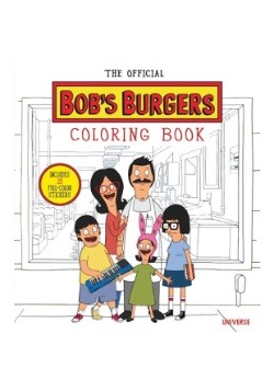 Official Bob's Burgers Coloring Book