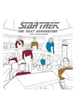 Star Trek: The Next Generation- Coloring Book