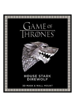 Game of Thrones- Mask: House Stark Direwolf