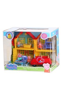Peppa Pig's Deluxe House Family Pack