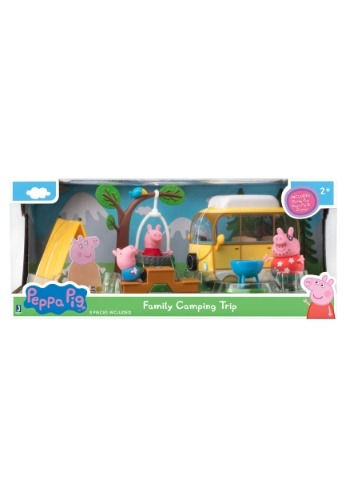 Peppa Pig's Family Camping Trip Playset