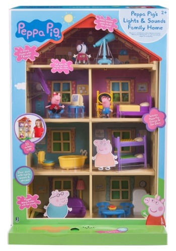 Peppa Pig's Lights n' Sounds Family Home Playset