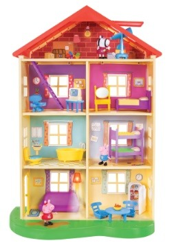 Peppa Pig's Lights n' Sounds Family Home Playset 2