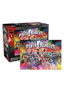 3,000 Pieces Power Rangers Puzzle