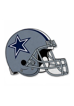 NFL Dallas Cowboys Die Cut Helmet Pennant