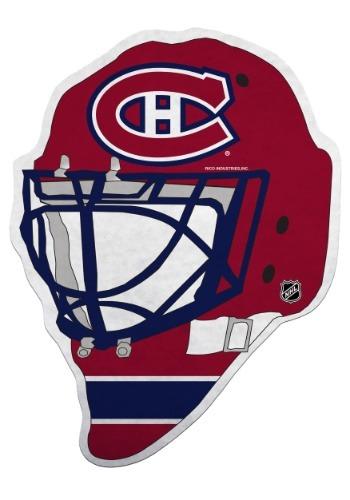 NHL Montreal Canadiens Die Cut Goalie Mask Pennant
