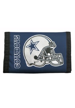 Dallas NFL Cowboys Nylon Tri-Fold Wallet
