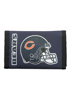 Chicago NFL Bears Nylon Tri-Fold Wallet