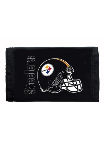 NFL Pittsburgh Steelers Nylon Tri-Fold Wallet