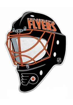 Philadelphia NHL Flyers Die Cut Goalie Mask Pennant