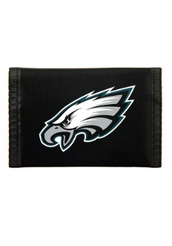 NFL Philadelphia Eagles Nylon Tri-Fold Wallet