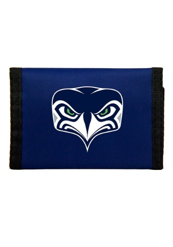 NFL Seattle Seahawks Nylon Tri-Fold Wallet