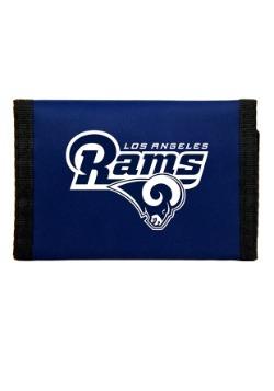 NFL Los Angeles Rams Nylon Tri-Fold Wallet