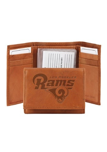 NFL Los Angeles Rams Genuine Leather Tri-Fold Wallet