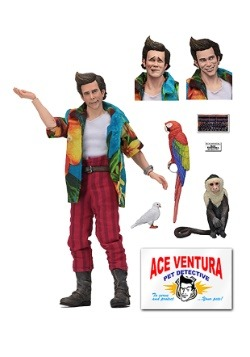 "Ace Ventura 8"" Clothed Action Figure"