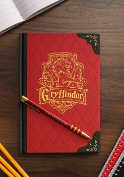 Harry Potter Gryffindor Journal and Pen Set