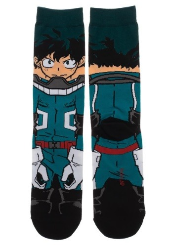 My Hero Academia 360 Adult Crew Socks